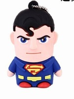 free shipping cartoon pendrive superman Iron man usb flash drive pendriver 4gb 8gb 16gb 32gb pen drive gift external storage hot