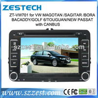 Free Shipping!! ZESTECH Touch screen Car Dvd Gps Navigation system Audio Radio auto parts dvd player for VW Volkswagen Golf MK5