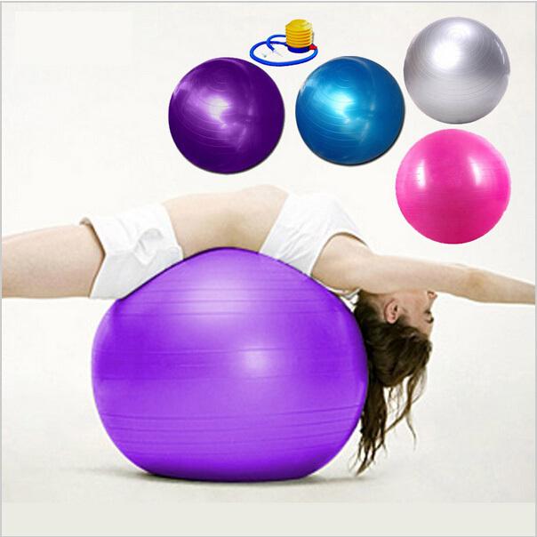High Quality New 55cm Yoga Pilates Ball 2014 Health Balance Pregnant Woman Gym Home Stability Exercise Sport pump fitness ball(China (Mainland))