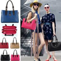 5Colors Brand New 2014 Fashion Women Handbag Color Match Desigual Shoulder Bags For Women PU Leather Messenger Bags