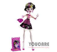 Monster High Art Class Draculaura Doll Free shipping Best gift for girl 2014 new monster Hight doll toys