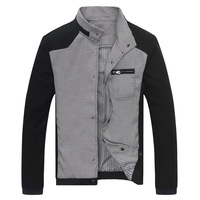 2014 Spring Autumn Casual Men's Jacket Good Quality Slim Cotton Jaquetas Masculinas Size M,L,XL,2XL,3XL