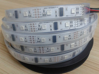 5m DC5V Lpd8806 addressable pixelled strip,32leds/m with 16pcs(32pixels) LPD8806 IC 5050 smd rgb led chip;waterproof in tube
