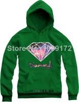 new 2014 hoody plus size S-4XL men hoodies sport sweatshirts HOODIE Pullover hiphop hoody tracksuits Blusas de Moleton Diamond