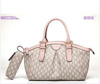 2014 women big bag wild colorful shoulder bag fashion shopping handbag drop shipping woman's bag
