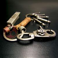 2014 new Punk Skull key rings Vintage key chain Opener for Harley motorcycle