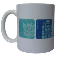 The transformer Autobots and the decepticons Optimus Prime Megatron Bumblebee 001 tea coffee home office cups mugs drinkware