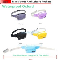 Mini women's small waist pack trend all-match bags small casual travel waist pack hot-selling