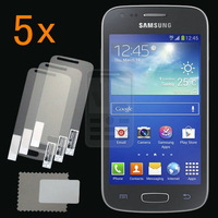Retail Pack 5x Glossy Ultra Clear LCD Screen Protector Guard Cover Film Shield for Samsung Galaxy ACE 3 III S7270 S7272 S7275