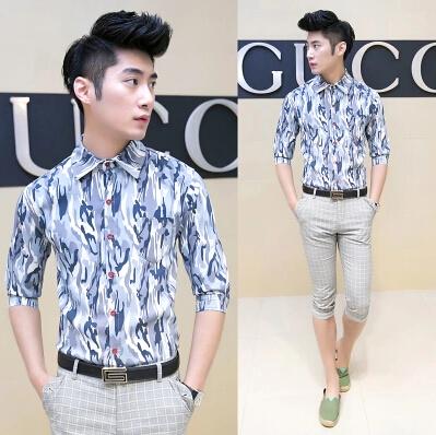 New styles for men clothing summer dresses