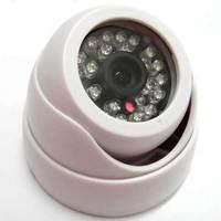 "1/3"" 800TVL CMOS IR Color Security CCTV Indoor Dome Camera 24 Leds D/N with IR Cut"