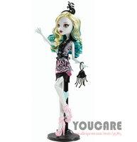 Monster High Frights Camera Action Black Carpet Lagoona Blue Doll Free shipping Best gift for girl 2014 new monster Hight  toys