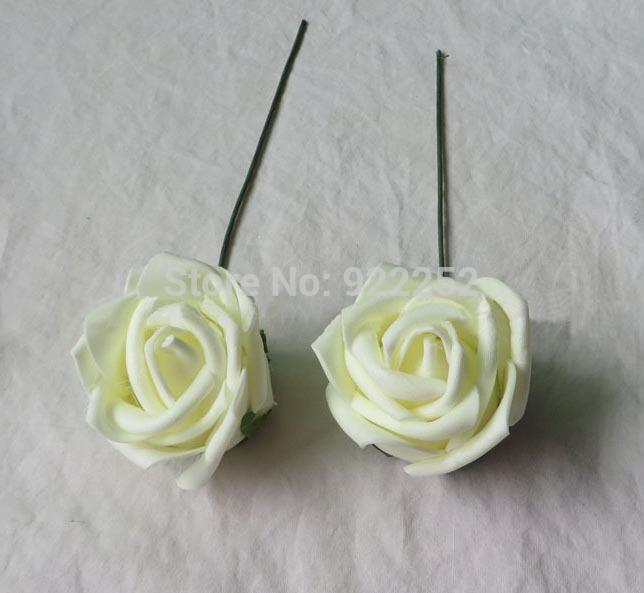 5cm cheap artificial floral foam eva roses,diy craft arrangements kissing ball&bridal bouquet&flower led&decoration for car&arch(China (Mainland))