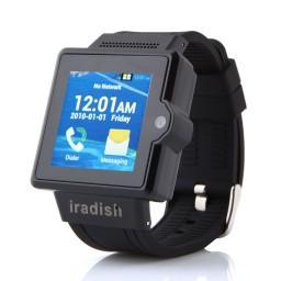 Iradish I6 Smart watch 3G MTK6577 Dual Core Android 4.0 1.54 Inch 2.0 MP Camera WCDMA GPS(China (Mainland))