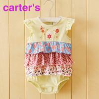 new 2014 newborn babies carters baby bodysuits Ha skirt carters baby girl dress 3-24 months bebe original body for baby clothing