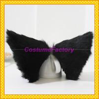 Free Shipping Sweet Lovely Anime Cosplay Party Headwear Hair Clip,Neko Cat Ears,100g/pair