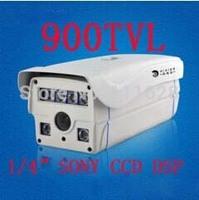 "Wholesale - 6 Array LED IR 80M 1/4"" SONY CCD HD 900TVL High Resolution 4/6/8/12/16mm Lens Weatherproof Outdoor IR CCTV Camera"