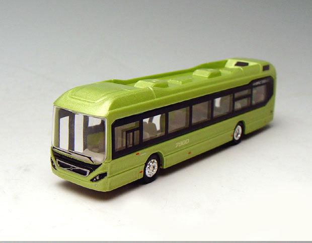 1/87 Scale Motorart Model of Volvo 7900 Hybrid Tour Bus coach Green 110387(China (Mainland))