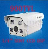 "Wholesale - 1/4"" SONY CCD HD 900TVL High Resolution 4 Array LED IR 50M 4/6/8/12/16mm Lens Weatherproof Outdoor IR CCTV Camera"