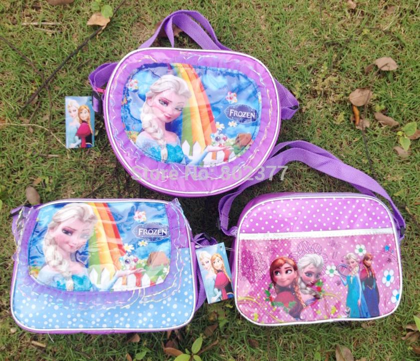 Todo o transporte livre 50 pçs/lote sacos marca cartoon violetta crianças mochila mochilas escolares das crianças para meninas(China (Mainland))