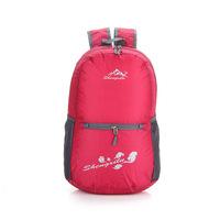 2014 Korean fashion nylon shoulder bag backpack