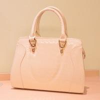 handbags European and American charm fashion bag casual wave of cool messenger bag rivets crocodile bag,1032