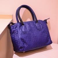 handbags new spring bag hand- woven retro wave of cool bag,1097