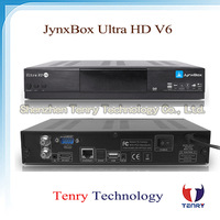 Jynxbox Ultra HD V6 TV Receiver FREE JB200 8PSK Module& wifi antenna 5pcs/lot
