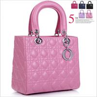New 2014 classic Parcel Sheepskin leather Mimi totes women messenger bags handbags women famous brands Handbag shoulder bag
