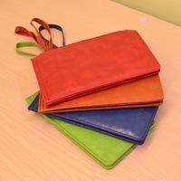 Multi-card bit minimalist wallet Korean version little PU leather Clutch,Free Shipping
