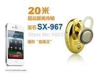 Luxury Gemstone Shape Bluetooth Headset SX-967 Mini Headphone V3.0 Multi Colors Free Shipping