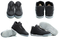 2 Colours Free Shipping New Model Air Retro 3 III 5Lab3 Gray Black MVP History of Men's Basketball Sport Footwear Sneaker Shoes