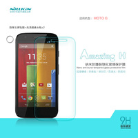 NILLKIN Amazing H Nanometer Anti-Explosion Tempered Glass Screen Protector Film For MOTO G, MOQ:1PCS
