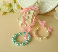 Free shipping! new ABS pearl Bracelet set children/kids Candy beaded Bracelet set /baby Children Jewelry Set