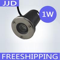 IP68 AC12V /24V 1W LED Underground light LED Deck Light led inground light warm white/white/red/gree/blue