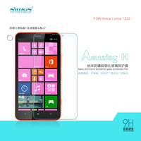 NILLKIN Amazing H Nanometer Anti-Explosion Tempered Glass Screen Protector Film For Nokia Lumia 1320, MOQ:1PCS