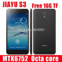 "Original JIAYU S2 MTK6592 Octa Core mobile phone 5.0"" 2GB RAM 32GB ROM Android 4.2 IPS Gorilla 8MP+13MP Camera OTG free case W"