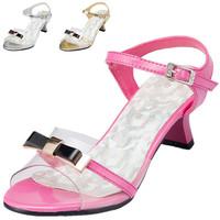 Girls Sandals Real Sapato Infantil 2014 New Summer Child Sandals Open Toe Sequined Girls Children Princess Kids Shoes Jyg120