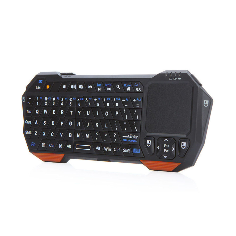 New 3 in1 Wireless Mini Bluetooth Keyboard Mouse Touchpad For PC Windows Android iOS Tablet PC HDTV Google TV Box Media Player(China (Mainland))