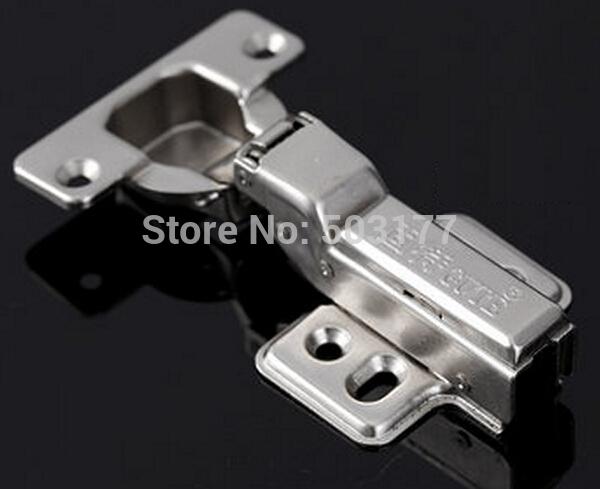 Furniture accessories hardware,Cabinet hinge ,Half overlay , Hydraulic brass buffer(China (Mainland))