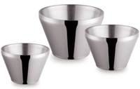 Hotel home bar club kitchen ware double walls 5L stainless steel salad bowl food bowl fruit bowl