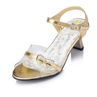 Sapato Infantil Menina Frozen Shoes 2014 New Summer Child Sandals Open Toe Sequined Girls Children Princess Kids Shoes Jyg123
