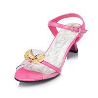 Frozen Shoes Sapato Infantil Menina 2014 New Summer Child Sandals Open Toe Sequined Girls Children Princess Kids Shoes Jyg122
