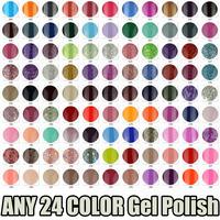 PICK ANY 24 IN 114 COLOR Ms.Keiko Soak-off UV Led Gel Polish SHELLAC Long-lasting Nail Art 7ml