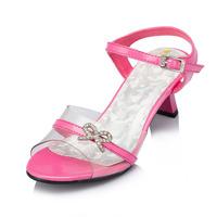 Shoes for Girls Sapato Infantil Menina 2014 New Summer Child Sandals Open Toe Sequined Girls Children Princess Kids Shoes Jyg124