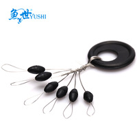 Fish olive shaped space beans black ultra soft small  taiwan small accessories