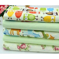 5pcs 48cm*48cm cotton Cartoon fabric  baby bedding patchwork quilt tecidos para artesanato quilting fabric fat quarters tecidos