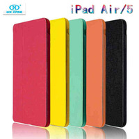 2014 new top fashion Smart cover for ipad air case leather stand for apple iPad 5 ipad cases free shiping