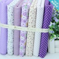 super deals 7pcs 48CM*48CM designer patchwork quilt fabric for crafts cotton tecidos tecido para patchwork tecido tissue