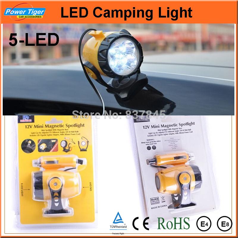Rechargeable 12v Led Car Spotlight 12v Led Camping Light Car